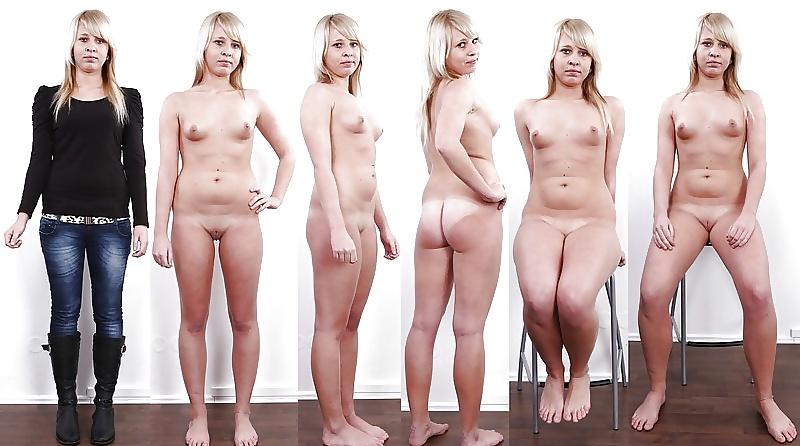 Русские Обнаженные Девушки На Кастинге