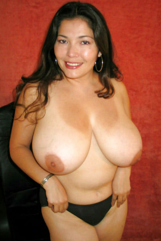 Big boobs latina mature