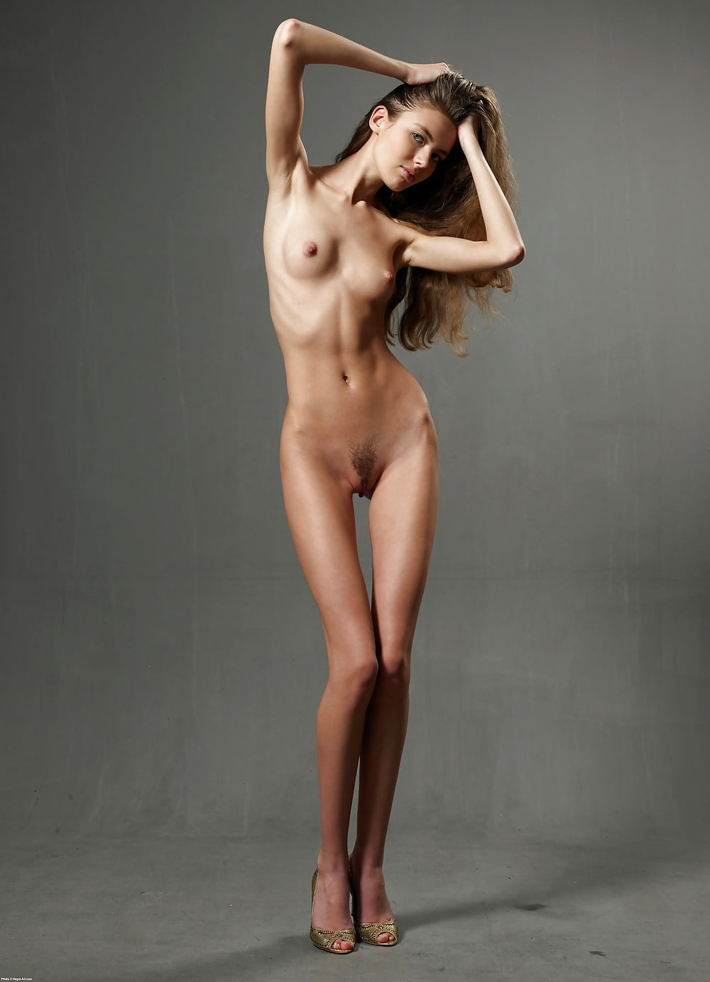 Extra skinny girl nude — photo 7