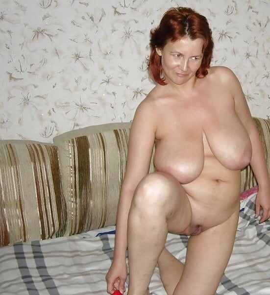 White Granny With Red Hair And Big Tits - 9 Pics -4707