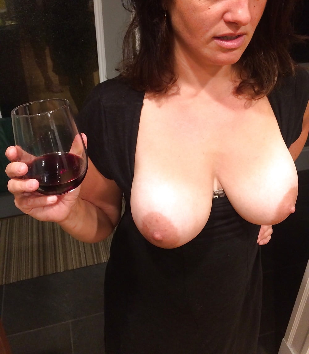 Mature busty wife