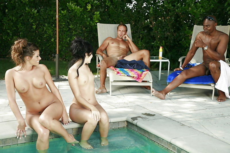 Nudist pool day returns