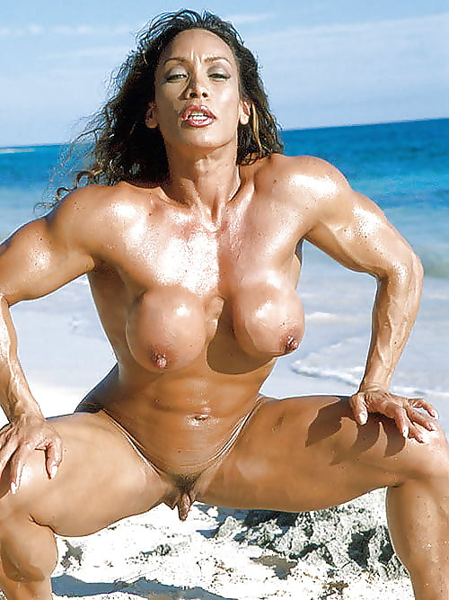 Naked bodybuilding girls with clits 4