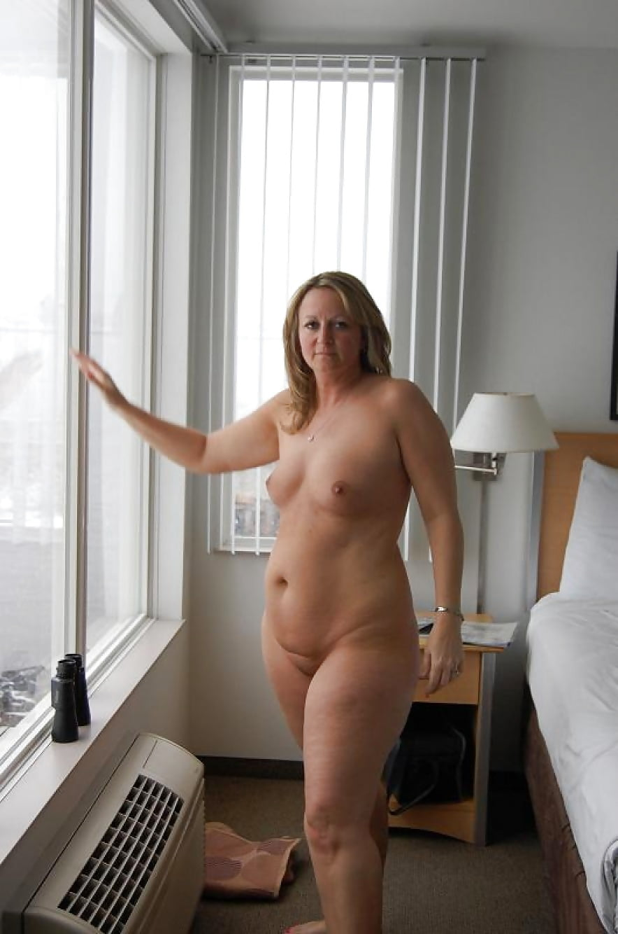 Naked fat wife