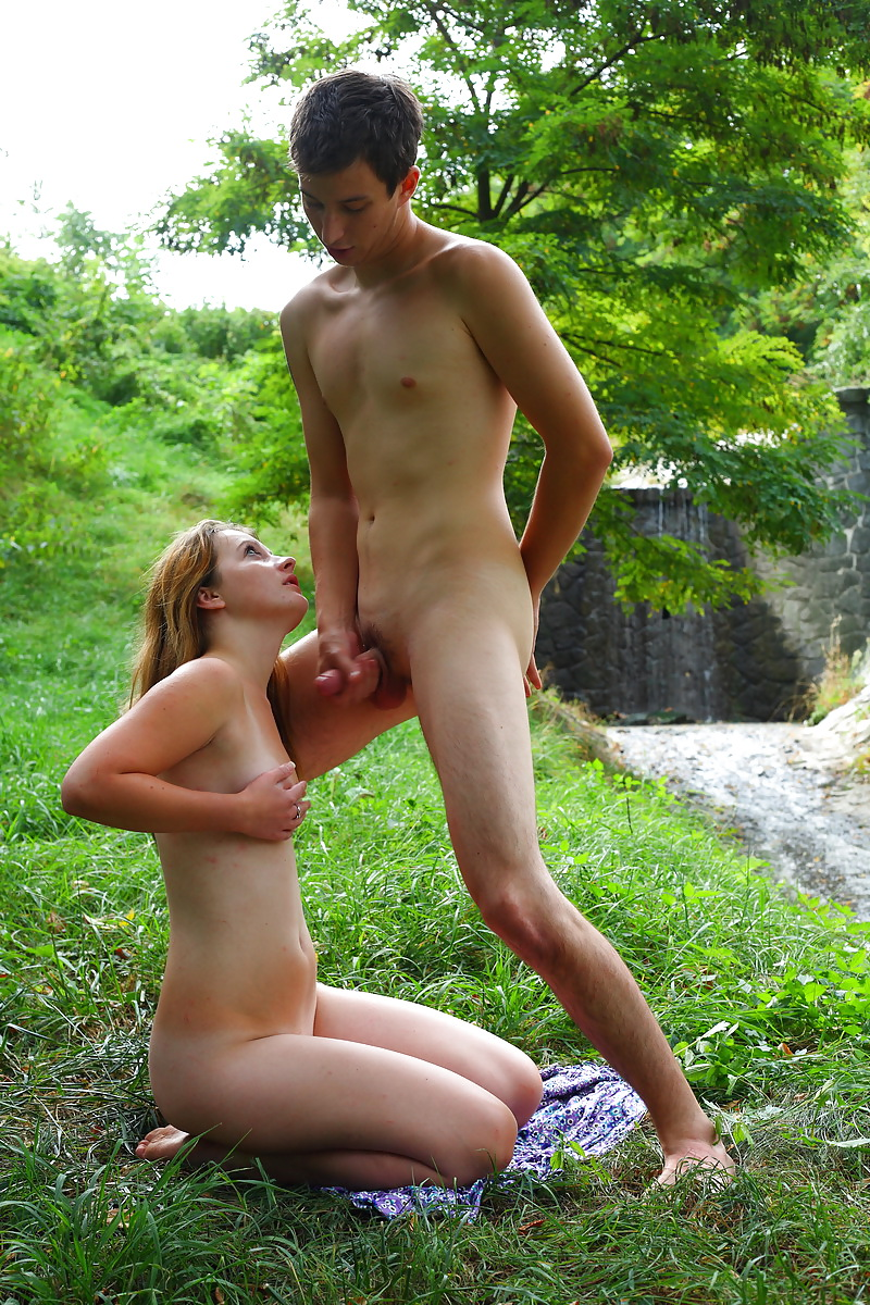 Cute Young Teen Fucked In Forest - 11 Pics  Xhamster