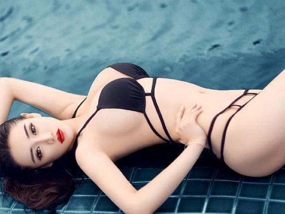 Guo nackt Ping Mai Tina Guo