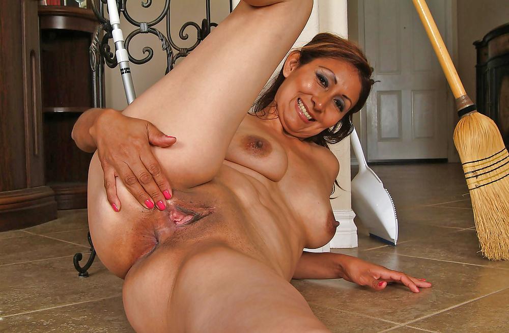 Hot Latina Mom Son