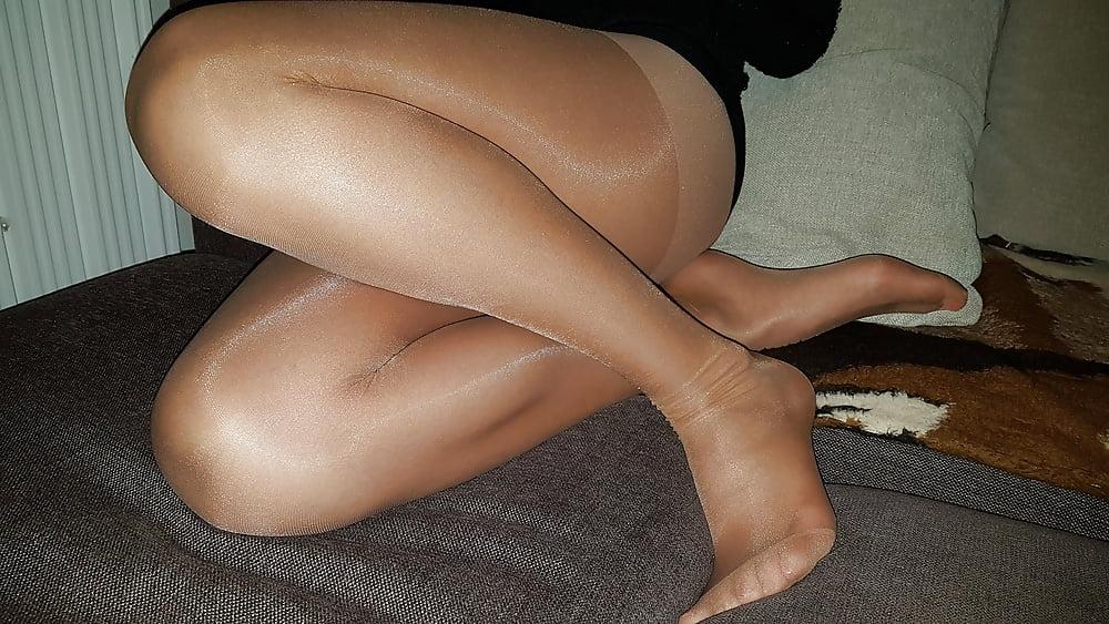 Sexy Pantyhose Model