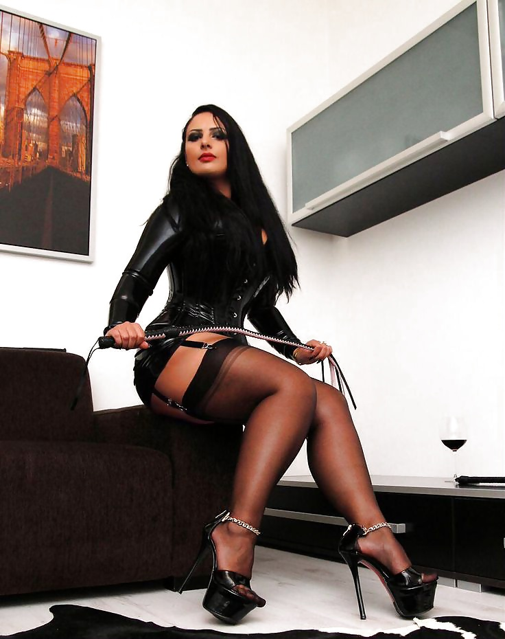 Dominatrix high heels
