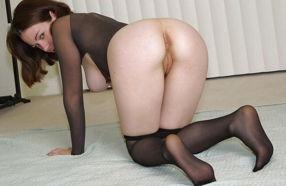 Pantyhose Ass Licking
