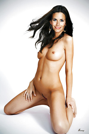 Swimwear Courtney Cox Fake Naked Picture Png