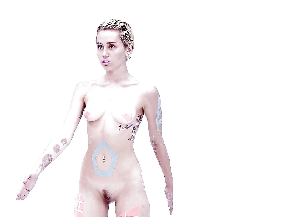 Girl miley cyrus and nude pictures clock for deaf