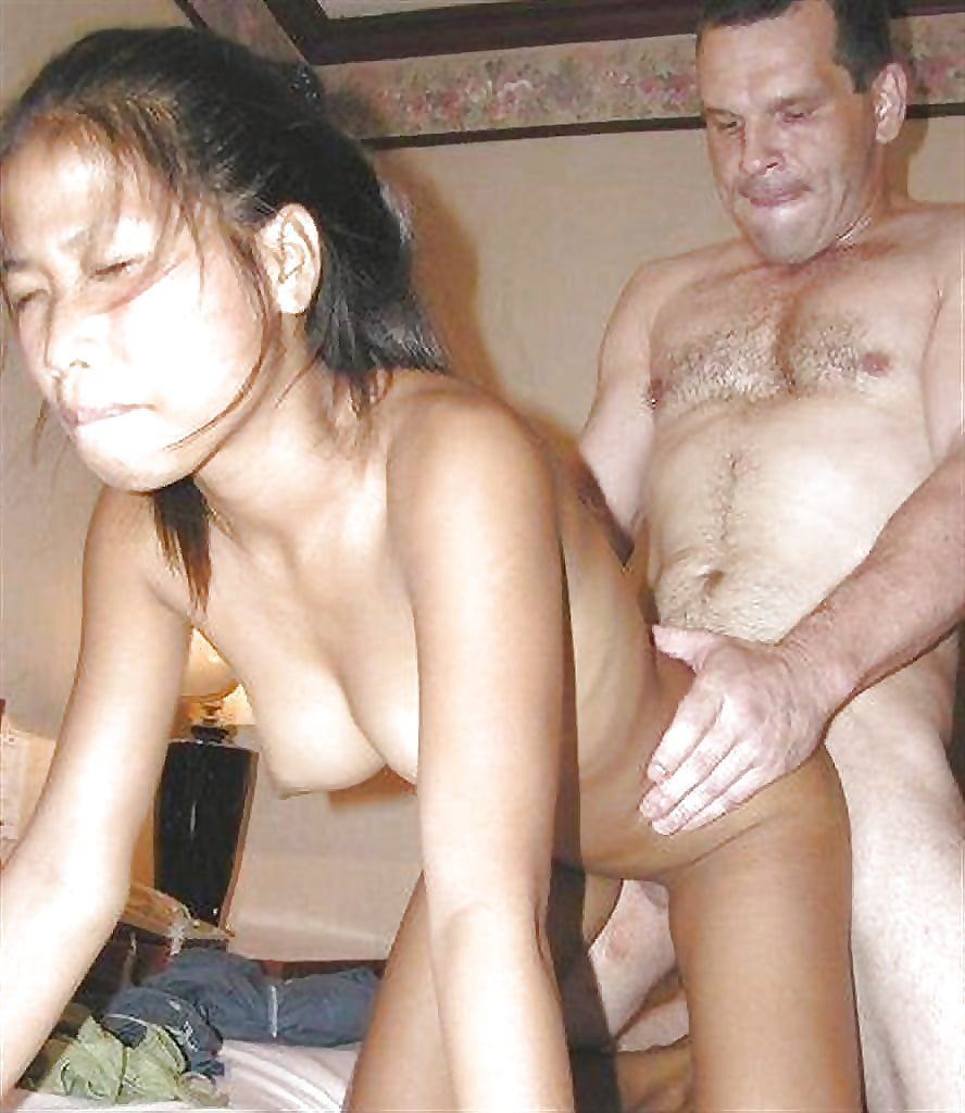 Teen thai girls fucked by old guy spit