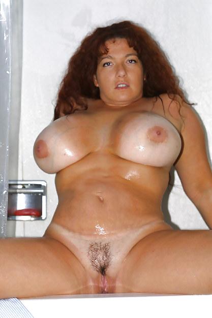 Hot big boobed brunette slut with nice-9826