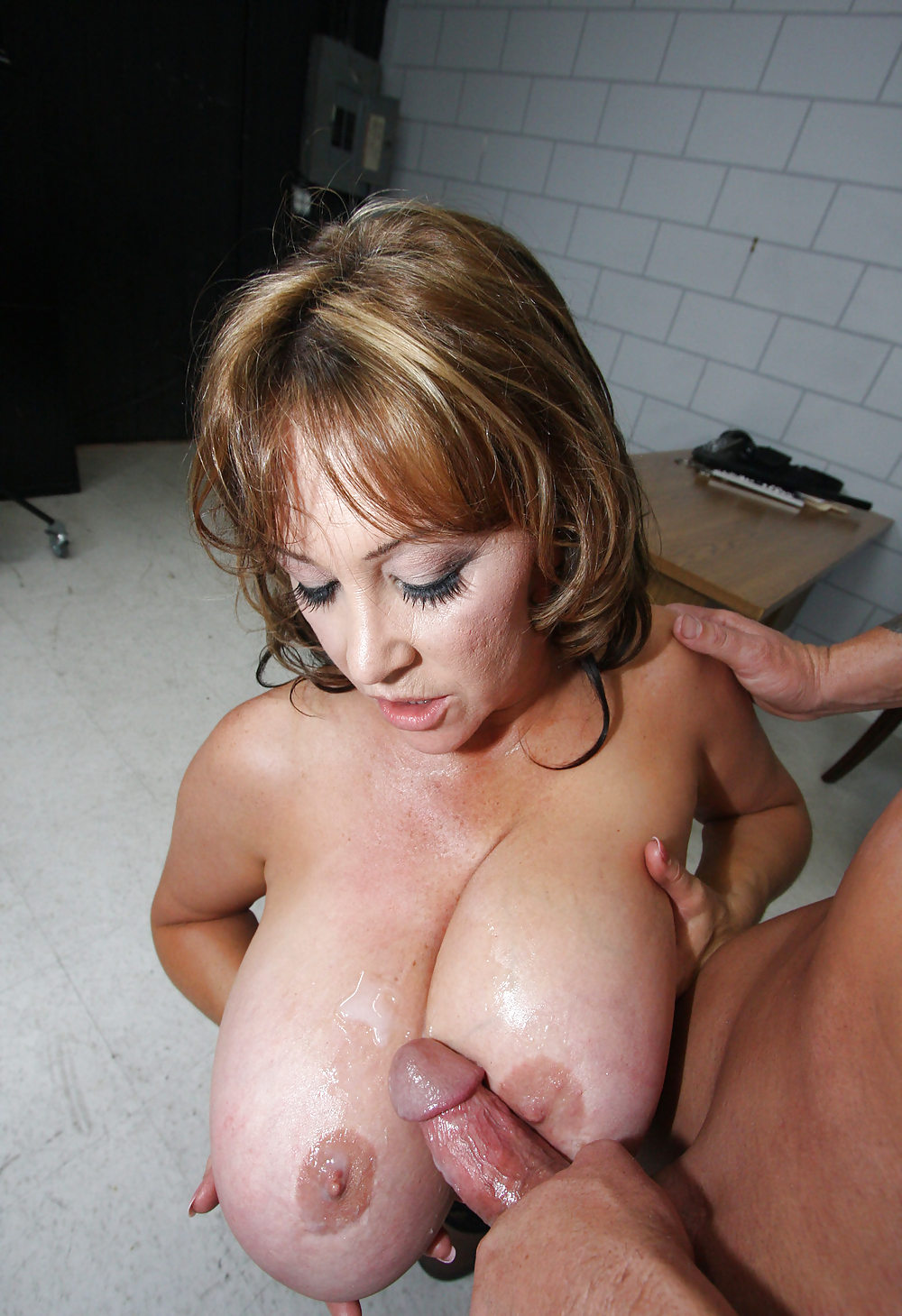 Milf titty pics, young cock mature
