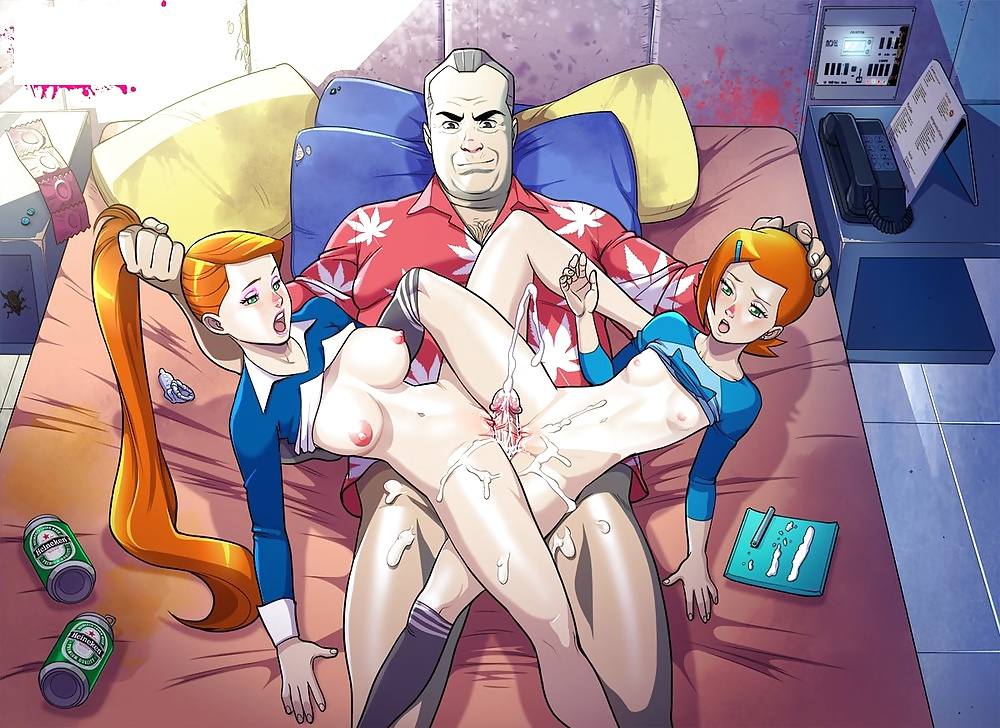 Porn cartoons turned into hentai and lois