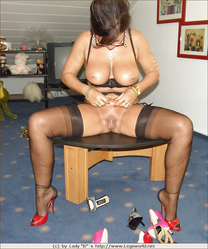 Stockings and heels videos