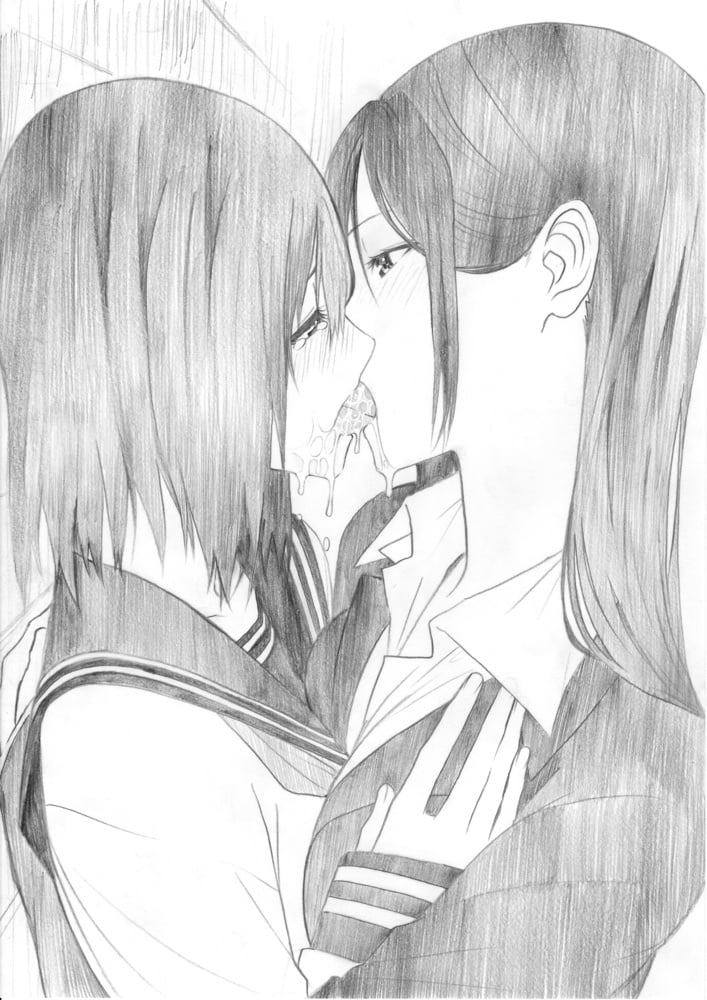 Anime lesbian porn-3907