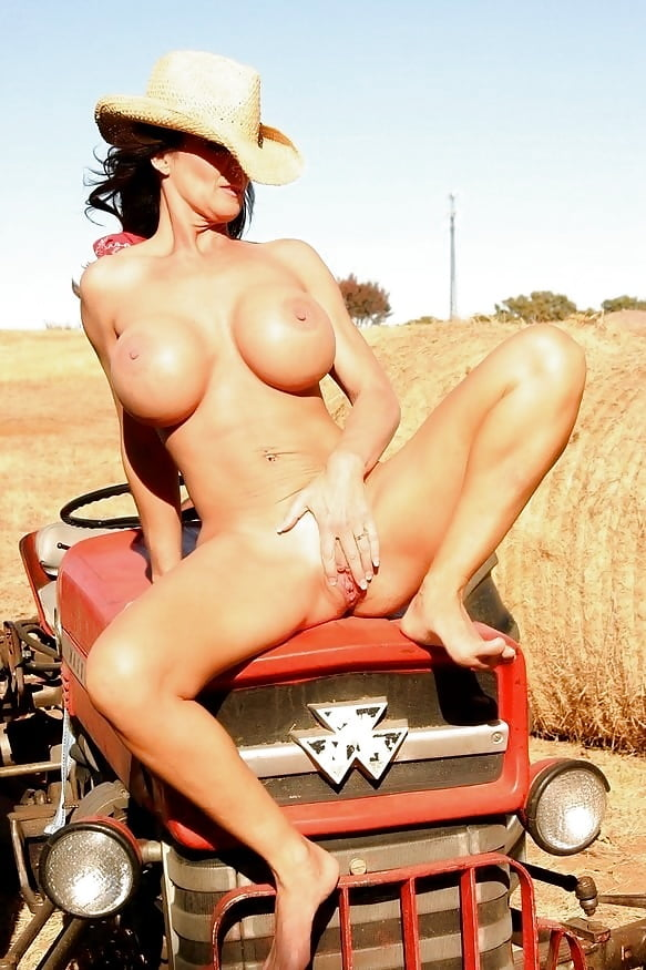 Sex on tractor porn nudity