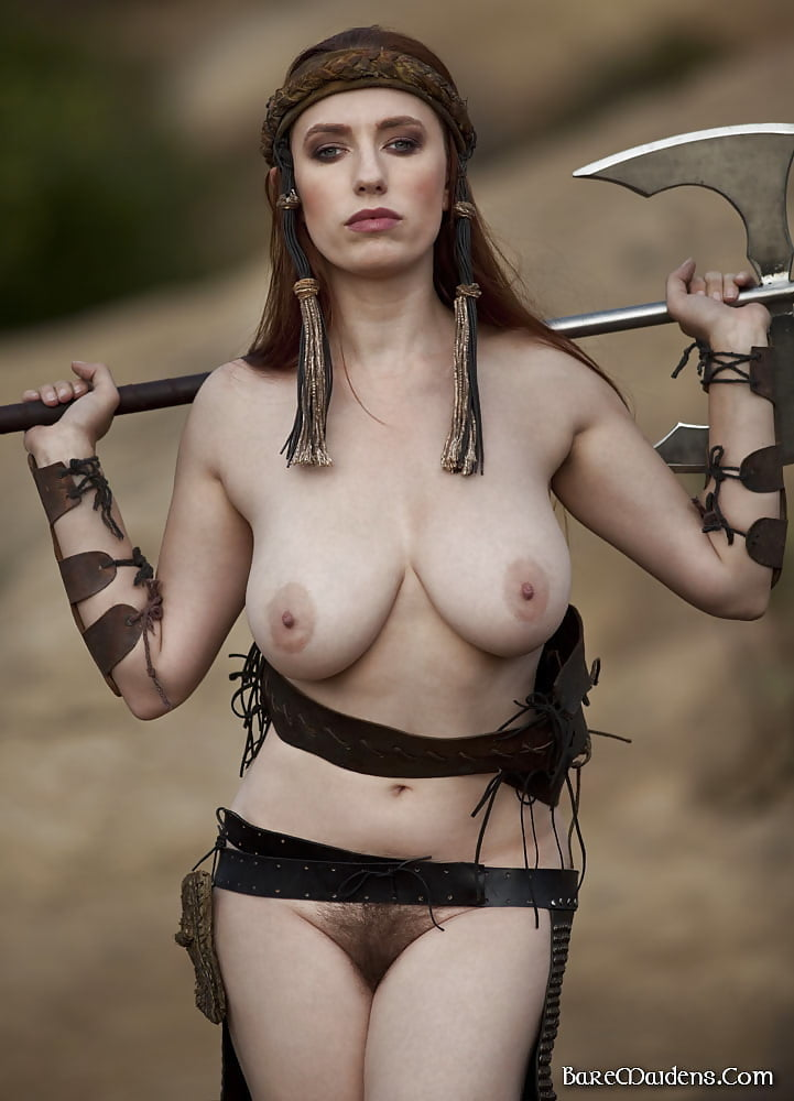 Exotic female medieval costumes naked