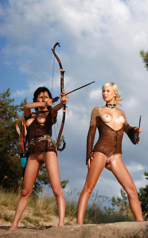 Threesomes lesbian amazon warriors popular