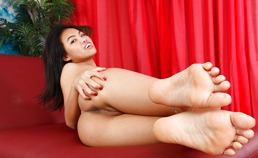 Sharon Lee Asian Foot Fetish Pornstar Riding Cock