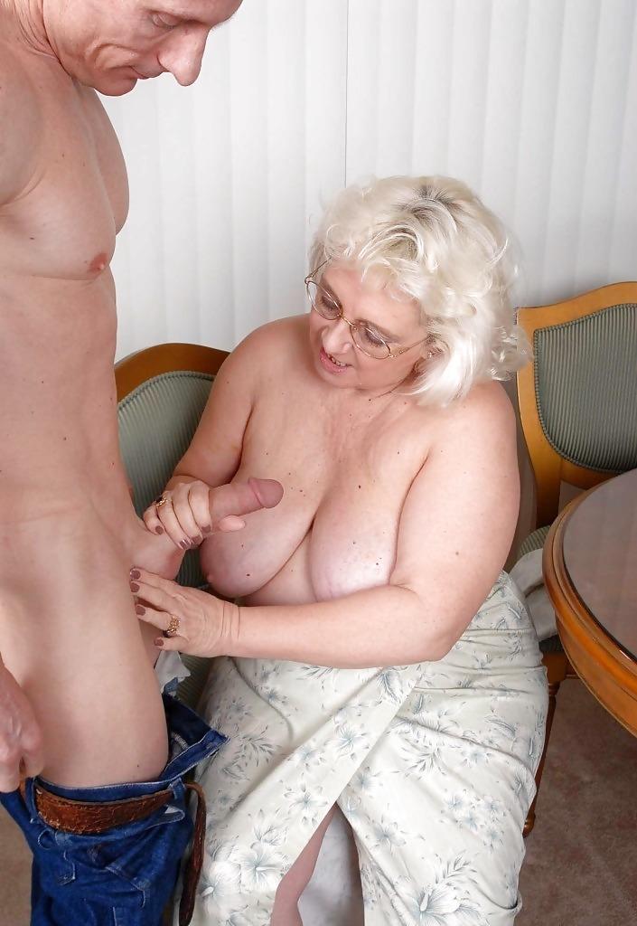 Cumshot Handjob Granny Teen Handjob
