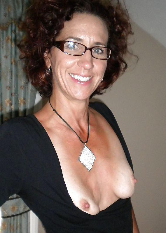 Mature nerd glasses