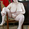 A hot bbw granny strips