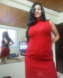 Topless girl selfies