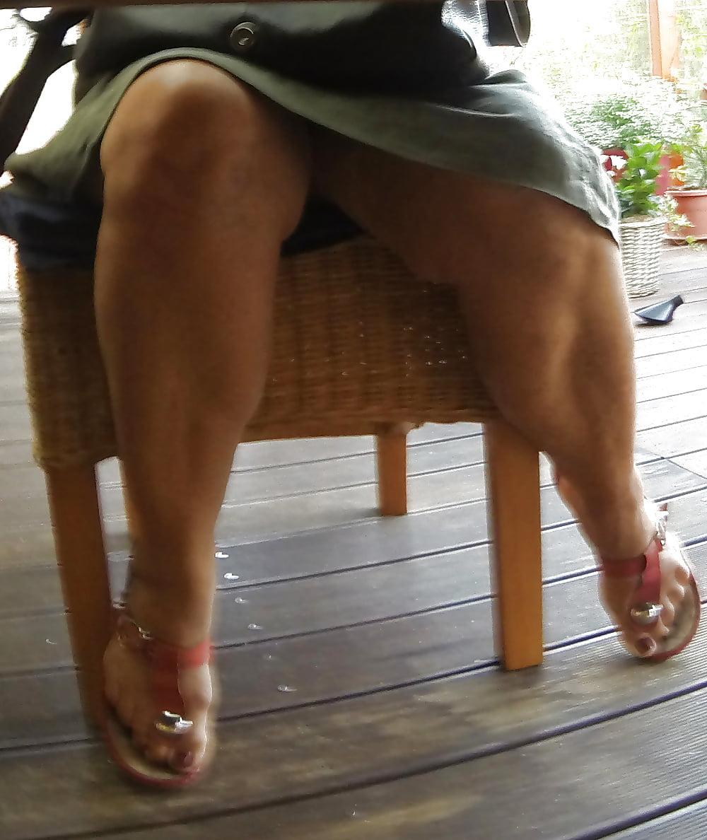 Upskirt mature mixed! amateur hidden cam!