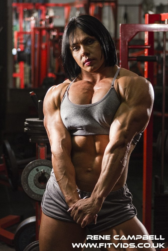 Rene Campbell! Bodybuilding British Beauty! - 34 Pics