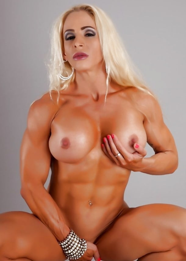 Naked blonde muscle girls #9