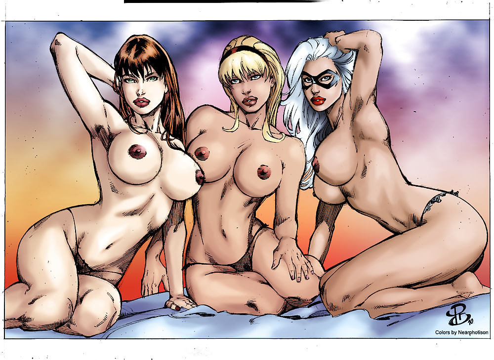 Marvel nude comics