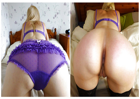 Blond Nylon Girl Friend