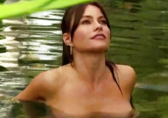 Hot Sofia Vergara Tits Nude Gif