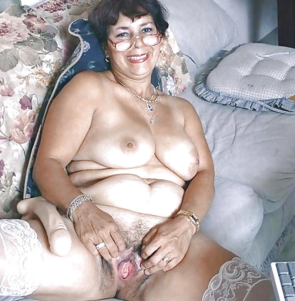 Creampie old fat granny
