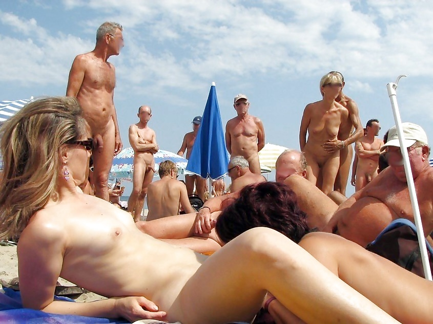 Пляжи сша и публичное порно