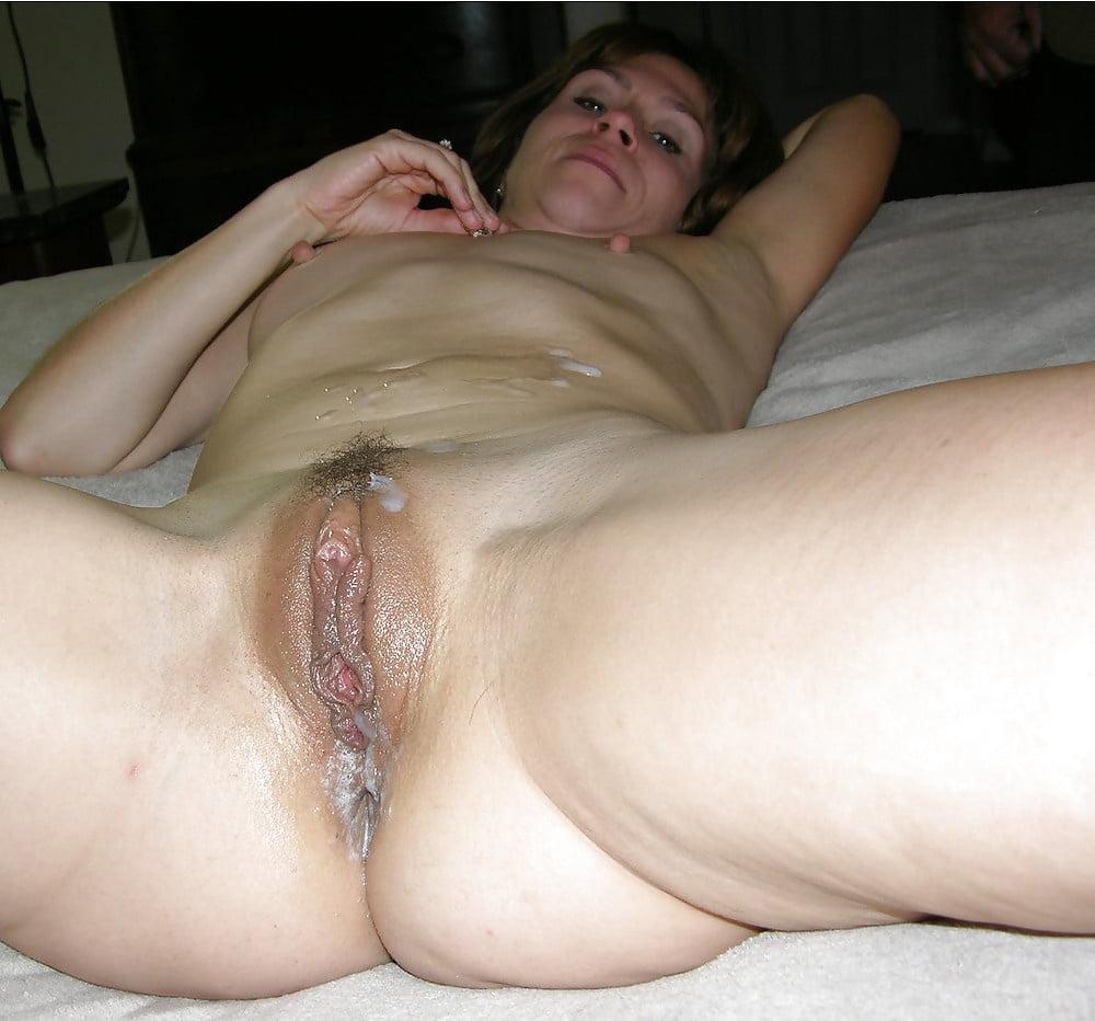 Wifes Pussy Dripping Cum