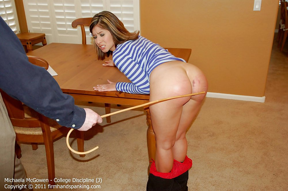 Hitchhiker Spanked