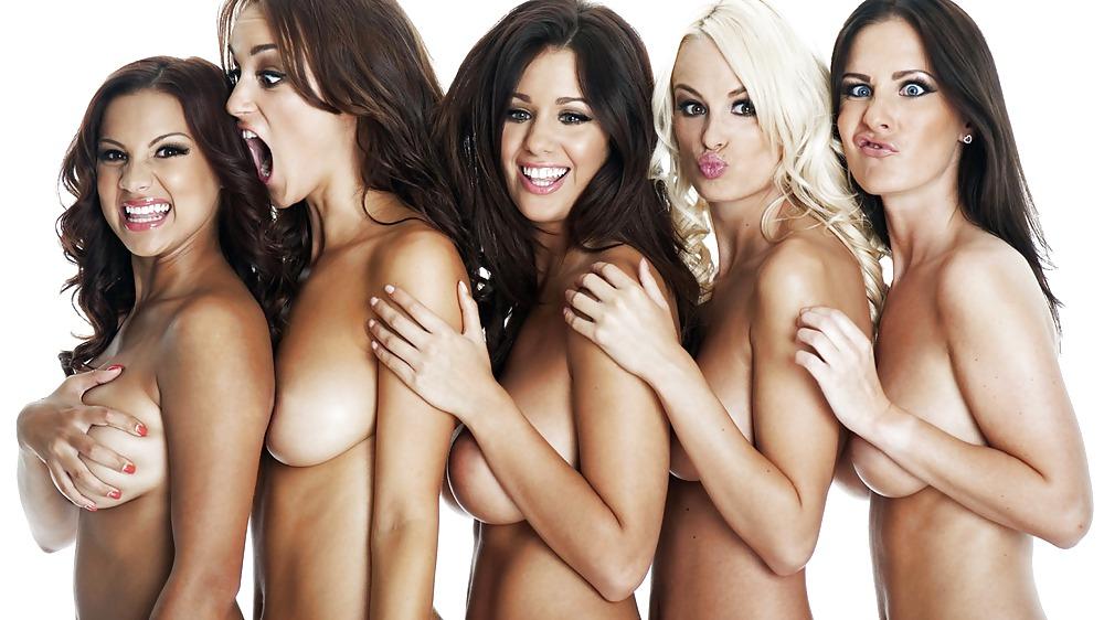 Девушка и группа мужчин эротик фото