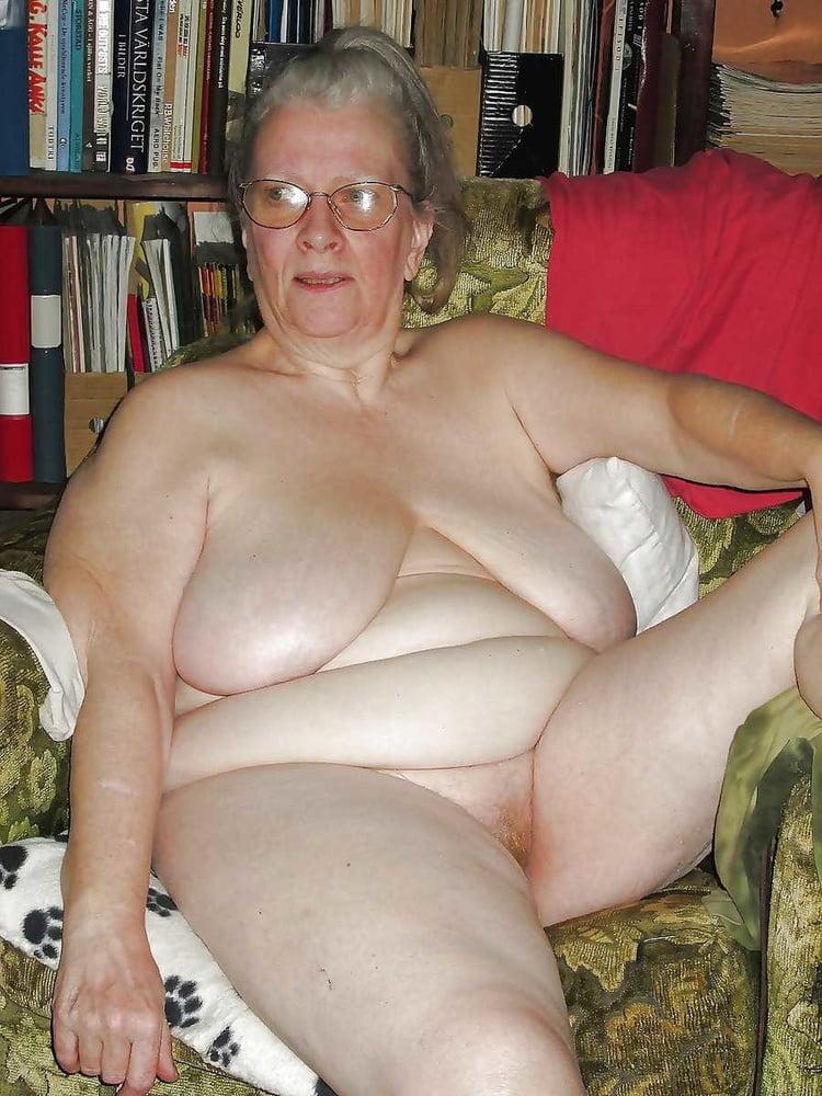 Fat grandma naked