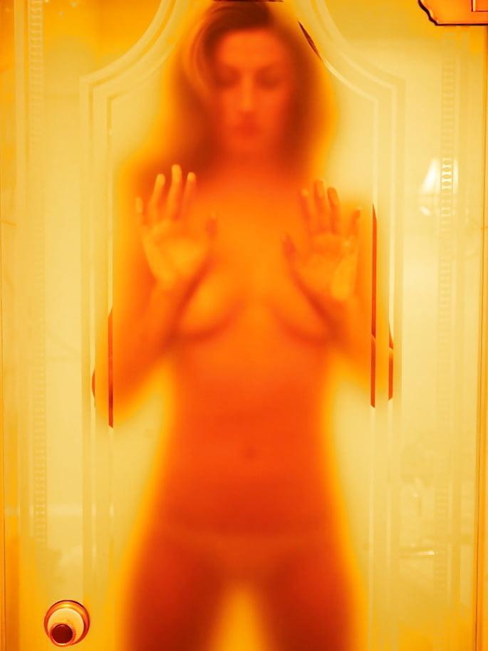 Nude topless pics