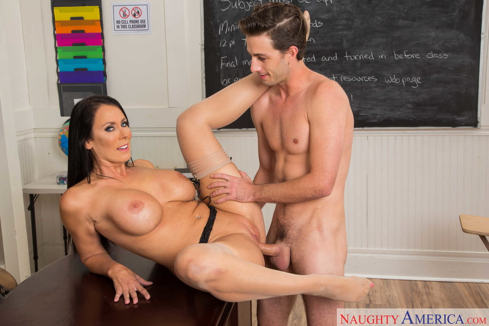 The Strict School Teacher Punished The Naughty Boy By Getting Her Pussy And Ass Fucked By Him