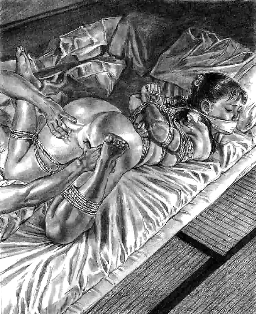 Think, that pencil sketch bdsm slave on bed all clear