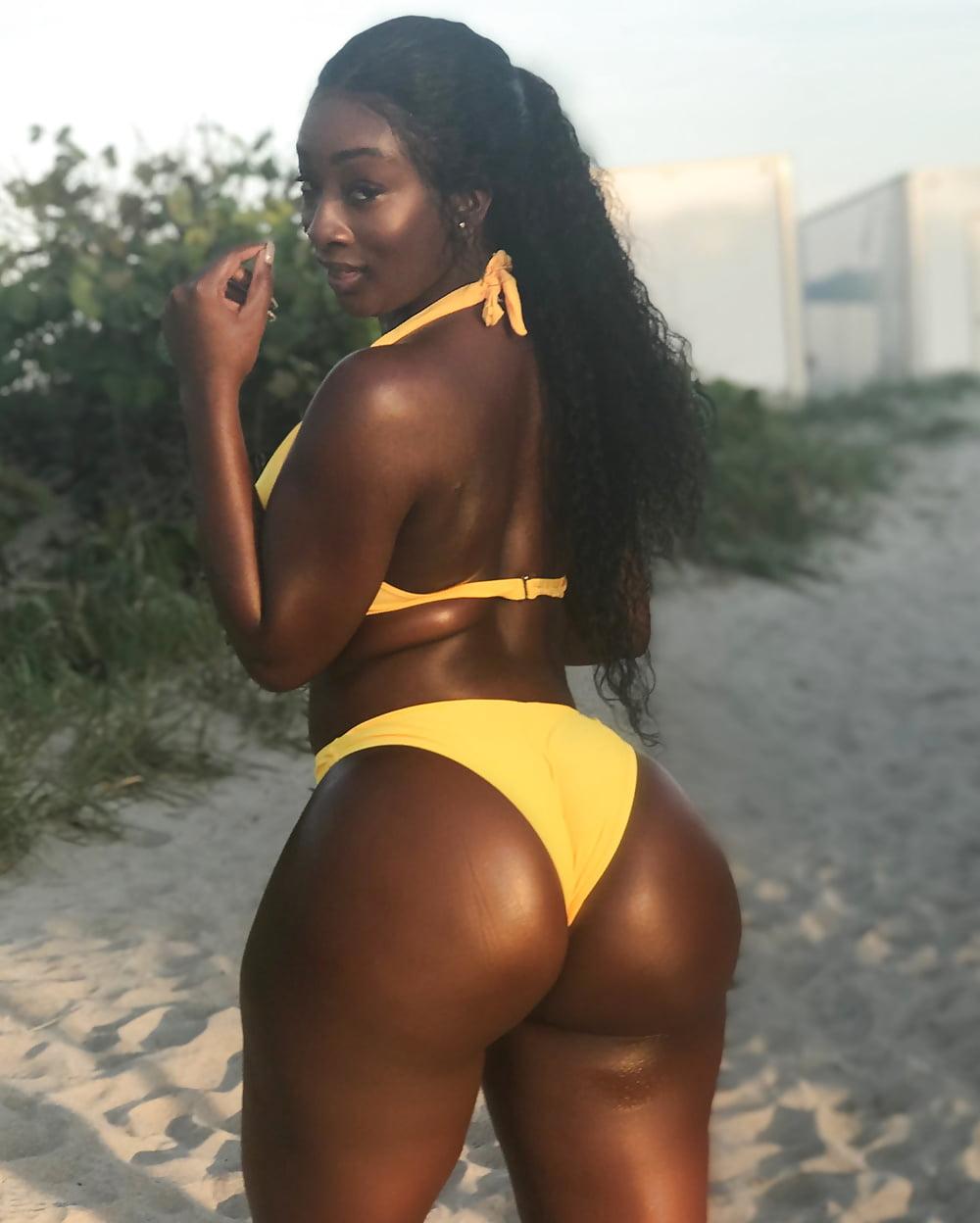 Women with big black ass