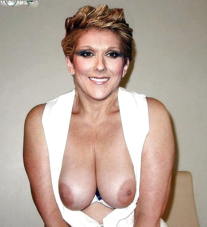 Celine Dion Poses Nude