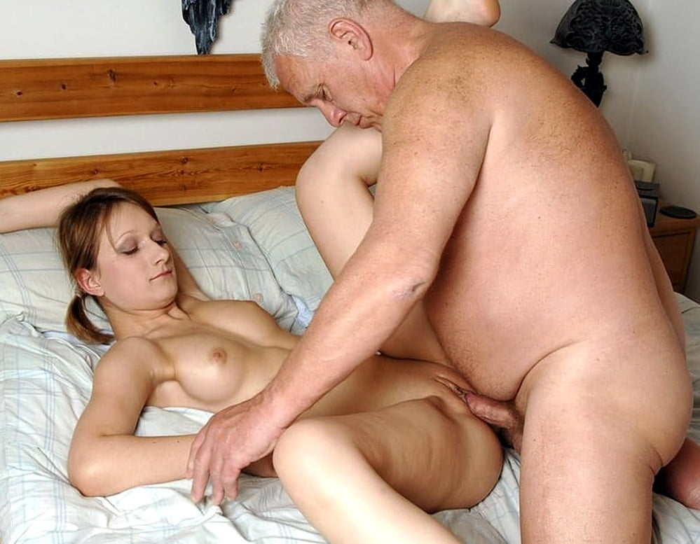 Hot older men young women porn — 3
