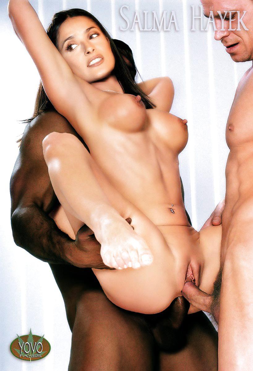 Порно фото анала сальмы хайек 5