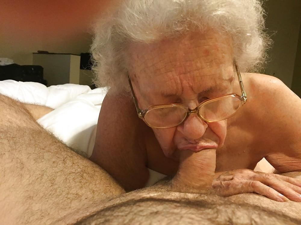 Horny Blonde Grandma Wants A Black Cock